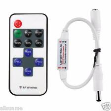 Mini LED Controller Dimmer + RF Wireless telecomando per 5050 3528 Striscia LED
