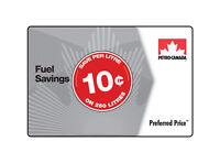 Petro-Canada™ Preferred Price™ Card - $25 (save 10¢ per litre on 250 litres)