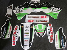 Kawasaki KXF450 2009-2011 Chad Reed Two Two Motorsports kit grafica GR1076