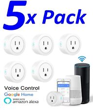 5X Smart Mini WiFi Plug Outlet Switch works with Amazon Alexa Google Home IFTTT