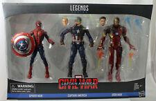 Marvel Captain America Civil War Spider-Man Capt America Iron Man 3-pack Hasbro