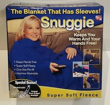 Snuggie- The Original Wearable Blanket That Has Sleeves, Warm, Cozy, Super Soft