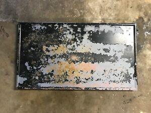 1924 Model T Ford coupe trunk lid