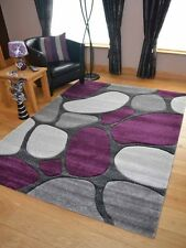 New Modern Pebble Stone Effect Rugs Long Floor Runners Small Medium Large Soft