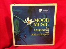 Reader's Digest Mood Music for Listening and Relaxation 10 Vinyl LP 33 1/3rpm