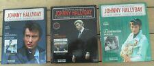 3 LIVRES CD  JOHNNY HALLYDAY LA COLLECTION OFFICIELLE