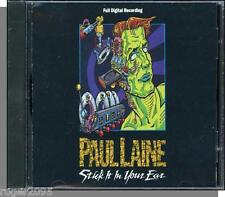 Paul Laine - Stick It in Your Ear - Ultra Rare 1990 Elektra CD! New & Sealed!
