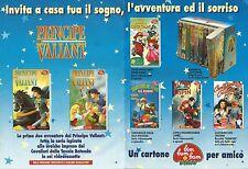 X1675 Principe Valiant - Bim Bum Bam Video - Pubblicità del 1994 - Vintage ad