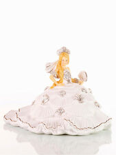 THE ENGLISH LADIES CO GYPSY FANTASY WHITE DRESS BLONDE HAIR FIGURE NEW & BOXED