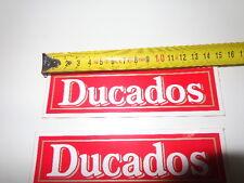 GAS GAS  TRIAL 1993 SNUFF DUCADOS ADHESIVES DUCADOS TRIAL MOTORCYCLES ( BOX 45)