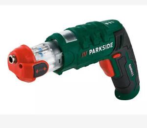 BNIB Parkside Cordless Rapidfire Screwdriver + Storage Pouch + Charger + Bits