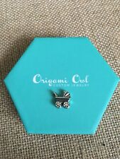 Authentic Origami Owl Silver Baby Carriage Stroller Charm Vintage For Mom Locket