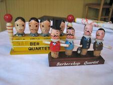 New listing 2 vintage Sets Barbershop Quartets-Barware