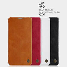 Slim Nillkin Classic Qin Flip Leather Case Cover For Apple iPhone LG OnePlus 8