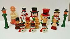 Vintage Christmas Candles Lot Of 15