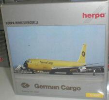 HERPA WINGS 500610 BOEING 707-300F GERMAN CARGO DIECAST METAL SCALE 1:400 NEUF