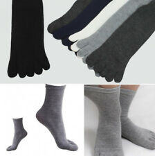 5/3 Pairs Unisex Casual Socks Cotton Warm Sports Five Fingers Separate Toe Socks
