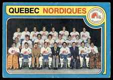 1979-80 O-Pee-Chee Nordiques Team #261