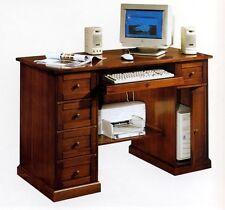 SCRIVANIA IN LEGNO PORTA PC ART. IM583 SCRITTOIO SCRIVANIE PORTA COMPUTER