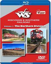Wisconsin & Southern Railroad Volume 1 The Northern Division BLU-RAY NEW CVision