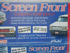 LUND Screen Front Custom Grill Inserts 28670 Dodge Caravan 1991-1995 New in Box