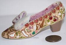 NEW Walt Disney Store Gallery Designer Princess Snow White SHOE Resin Figurine
