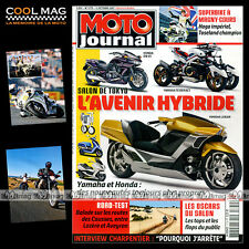 MOTO JOURNAL N°1779 TRIUMPH 900 SCRAMBLER YAMAHA XT 660 R GILERA 500 FUOCO 2007