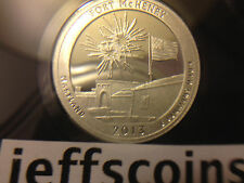 2013 S Mint 90% Silver Proof Fort McHenry National Monument State Park Quarter