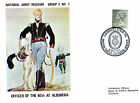 1971 OFFICER OF THE 60th AT ALBUHERA 2/7 ARMY MUSEUM COMMEMORATIVE COVER SHS