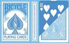 BLUE REVERSED Bicycle Pastel deck Playing Cards dark cute colour fashion gaff