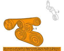 Pontiac GM OEM 03-08 Vibe-Serpentine Drive Fan Belt 88971576