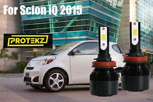LED For Scion iQ 2012-2015 Headlight Kit H11 6000K White CREE Bulbs Low Beam