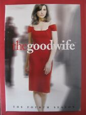 the good wife fourth season DVD 22 episode 6 disc set