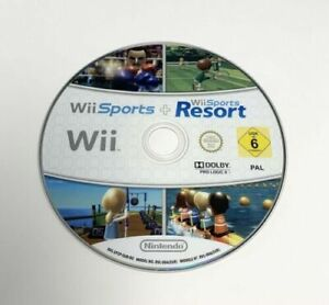 Wii Sports + Wii Sports Resort Double Game Disc Nintendo Wii PAL **Disc Only**