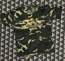 Vintage US Navy Underwater Demolition Team Seal UDT Camo T Shirt 80s Small