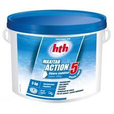 Chlore multiaction HTH Maxitab Action 5 Spécial liner galets 200 g. - 5 kg 5 kg