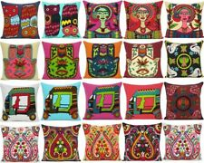 """Cushion Cover Cotton Pillow Case Sujani Embroidery Throw Sofa Cover Cases 18x18"""""""