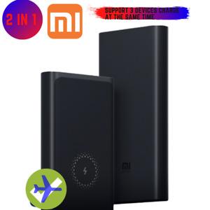 10000mAh Xiaomi Wireless Power Bank 18W USB Type C Lightning Fast Charger