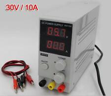 0~30V 0~10A Mini Switching Regulated Adjustable DC Power Supply 110V