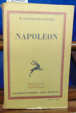 WEYER NAPOLEON (édition originale)...