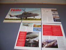VINTAGE..MI-26 HALO  HISTORY..PHOTOS/HISTORY/SPECS/3-VIEWS..RARE! (709L)