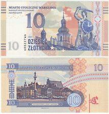 Poland Warsaw 10 Zlotych 2017 UNC SPECIMEN Test Note Private Gabris Banknote