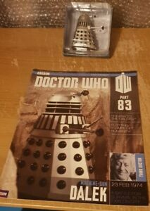 Eaglemoss Doctor Who Figurines Collection Issue 83 Machine-Gun Dalek