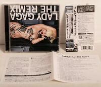 Lady Gaga - The Remix Japan CD w/ Obi Bonus Telephone Crookers Voval Remix