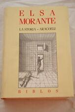 LA STORIA-ARACOELI-ELSA MORANTE-GALLIMARD BIBLIOS-1989