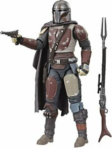 6 Inch Scale Mandalorian Disney+ Figure Star Wars Black Series Collection .LOOSE