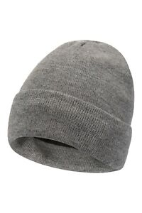 Mountain Warehouse Thinsulate Womens Beanie Hat Knitted Double Lined S-M B83