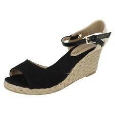 Spot on Women's Casual Textile Platforms, Wedges Sandals & Beach Shoes