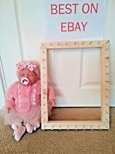 Frame/loom to make pom pom blankets approx 17 x 13.5 inches for dolls prams etc