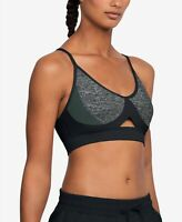 Under Armour Womens Running Gray Activewear Tank TOP SZ S Bralette Sports Bra